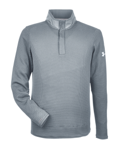 Under Armour Men's Corporate Quarter Snap Up Sweater Fleece