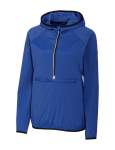 Cutter & Buck Ladies' Breaker Hooded Half Zip Jacket